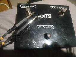 Pedal footswitch axis