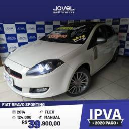 FIAT BRAVO SPORTING 1.8 FLEX 16V 5P - 2014