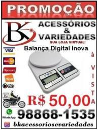 Balança Eletrônica Inova Escala 8341 de 1 à 10 Kg-Aceitamos cartão de Crédito