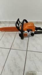 Motoserra Stihl pouco usada 600 reais