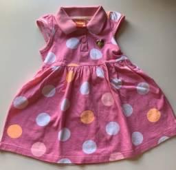 Vestido rosa KYLY - Tam. G (9 meses)