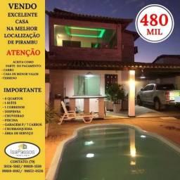 Vendo Excelente Casa em Pirambu (Melhor Localização Cidade)