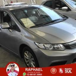 Ph Honda Civic LXS 1.8 2014 Bancos em couro - 2014