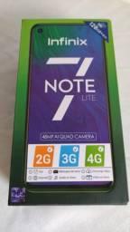 Celular Infinix Note 7 Lite 128gb/ 4 Ram /Novo/ Com Garantia/ 12 x sem juro