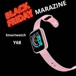 Smartwatch D20 Y68 Relógio Caminhada Monitor Cardiaco