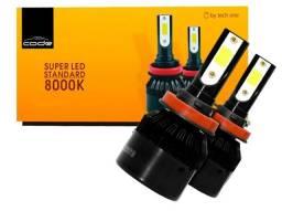 Vende-se lâmpadas de led 8.000k H1, H7 e H8