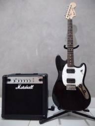 Guitarra, Amplificador e suporte