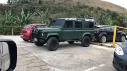 Defender 110 ano 2001 diesel 4x4 vendo troco