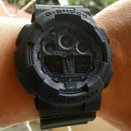 Relógio Gshock lindo automático Black