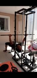 Estação de musculação-