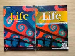 Livro didático de inglês - Life Advanced