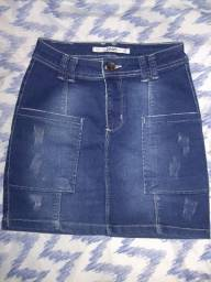 Saia Jeans Zoom