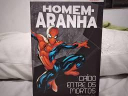 Livro - Homem-Aranha caído entre os mortos