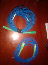 2 Cordões óptico conectorizado SC-APC/SC-APC
