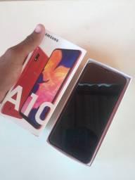 Sansung A10 novo na caixa