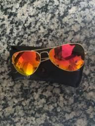 Óculos Ray-Ban Aviator espelhado