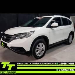 Honda CRV Lx 2.0 Flex Automática Branca Impecável 2013
