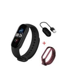 Relógio Smartwatch Inteligente Smartband M5 + Pulseira