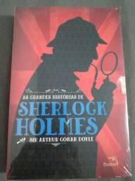 Box Sherlock Holmes novinho no plástico