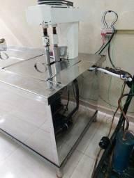 Maquina de sorvete massa e picolé