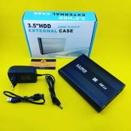 Case para HD Desktop 3.5 - USB 2.0