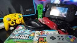 Nintendo WiiU Deluxe raro (LeiaTudo)