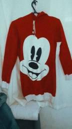 Blusa de frio do minnie mouse !!!
