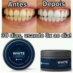 Clareador Dental Natural Carvão Ativado White Carvo<br><br>
