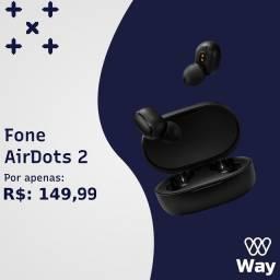 Fones Bluetooth air dots 2