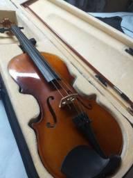Violino com capa