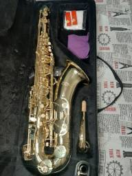 Título do anúncio: Saxofone Tenor Zion, seminovo ( 2 meses de uso )