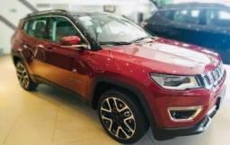Jeep Compass Limited Flex 2021 Okm A Pronta Entrega Melhor Preço da Baixada !!!