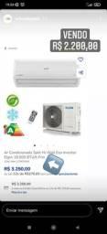 Título do anúncio: Ar condicionado split Elgin 18000BTU