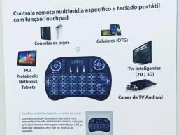 Mini teclado Wi-Fi Smart Tv