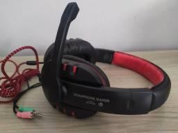 Fone de Ouvido Com Microfone Para Computador Exbom HF-G230