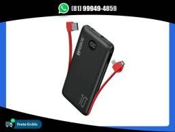 Título do anúncio: Power Bank Bateria Portátil 10000 Mah Hrebos Hs902