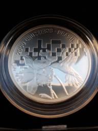 Moeda de prata comemorativa