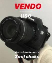 VENDO Câmera corpo 7D usada / com poucas marcas de uso