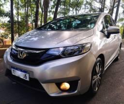 Honda Fit Ex Top Linha Couro Cambio Cvt
