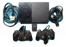 Playstation 2 Quebrado 2 Controles 1 Memory Card