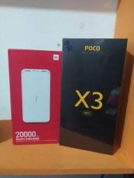 Pocophone x3 + Power bank