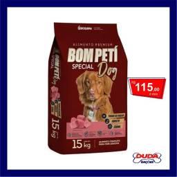 Ração Bom Peti Original Carne para Cães Adultos 15kg