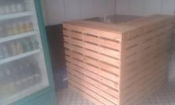 Balcão de paletes Tamanho 1por1 altura90
