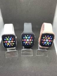Título do anúncio: Relógio Smartwatch T500 + Plus 44mm Original Faz Ligação