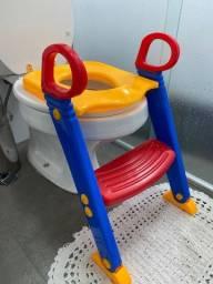 Assento redutor infantil com escada