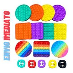 Brinquedo Pop It Fidget Toy Anti Stress Sensorial Diversos Modelos