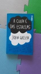 A culpa é das estrelas - John Green. Livro em perfeito estado