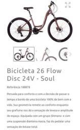 Título do anúncio: Bicicleta soul flow aro 26 Novíssima