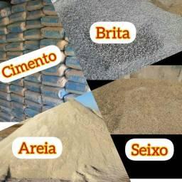 Cimento Areia seixo