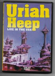 Dvd - Uriah Heep - Live In The Usa - Semi Novo